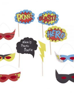 "Photo Booth Equipment ""Superhero"""